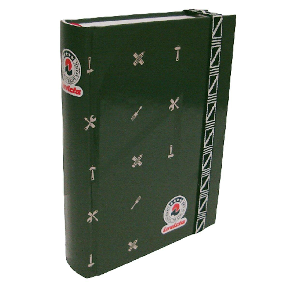 Invicta Diario Pocket 16 Mesi Con Elastico (Verde)