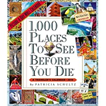 2019 1000 Places to See Before You Die Picture-A-Day Wall Calendar