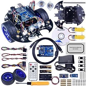 robótica: Robot Arduino, Quimat Coche Robótica con Tutorial de Vídeo en Castellano,UNO R3 ...