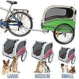 POLIRONESHOP SNOOPY rimorchio per trasporto cani cane, usato usato  Spedito ovunque in Italia