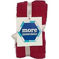 More Essentials 350 Noya Hand Towel - Red, Set of 2