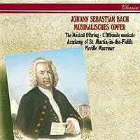 J.S. Bach: Musical Offering, BWV 1079 - Ed. Marriner - Canones diversi: Canon 2 a 2 Violini in unisono - Canon Violino Musica