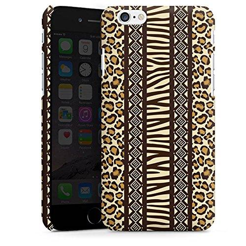Apple iPhone 5 Housse étui coque protection Imprimé animal Afrique Zèbre Cas Premium mat