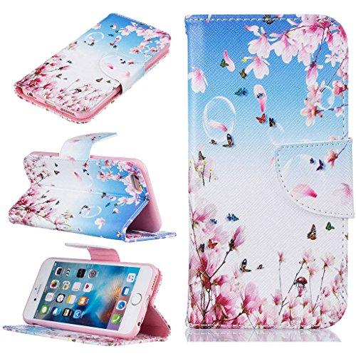 """iPhone 6s Coque, ONLY pour 4.7"""" iPhone 6 / iPhone 6S Housse - MYTHOLLOGY avec Support Housse PU Cuir Étui à rabat Portefeuille Antichoc Cover - DJZ LHDI"""