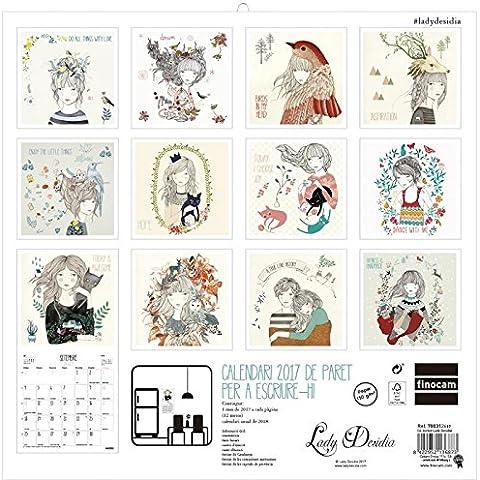 Calendari paret Lady desidia 2017