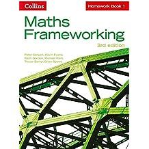 KS3 Maths Homework Book 1 (Maths Frameworking)