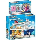 PLAYMOBIL® Family Fun 2er Set 6978 6983 Kreuzfahrtschiff + Disco mit Liveshow