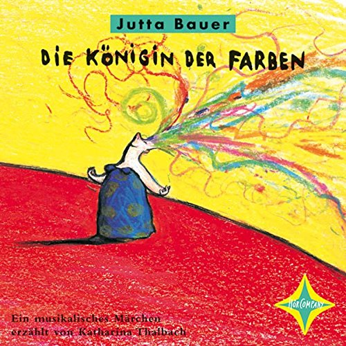 Buchseite und Rezensionen zu 'Die Königin der Farben' von Jutta Bauer