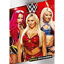 World Wrestling Divas Official 2018 Calendar - A3 Poster For