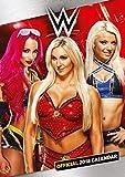 World Wrestling Divas Official 2018 Calendar - WWE A3 Poster Format Calendar