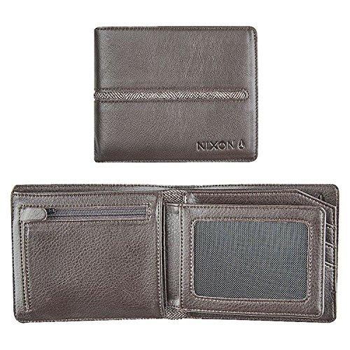 Nixon Coastal Satellite ID Coin Wallet Münzbörse, Schwarz -