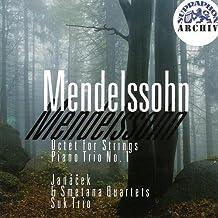 Mendelssohn : Octuor pour cordes ; Trio avec piano n° 1