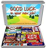 GOOD LUCK IN YOUR NEW JOB Large Gift Hamper Chocolate...