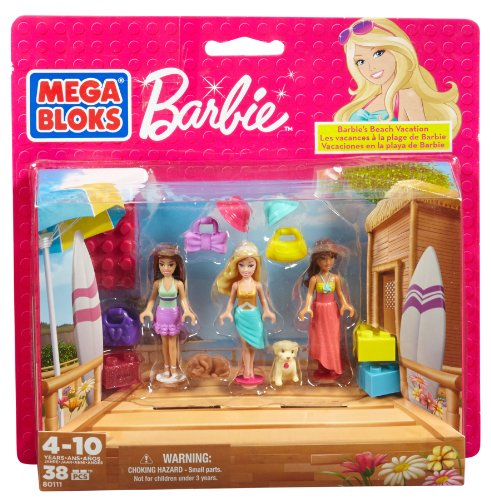 Barbie - Vacaciones en la Playa Mega Brands 80111