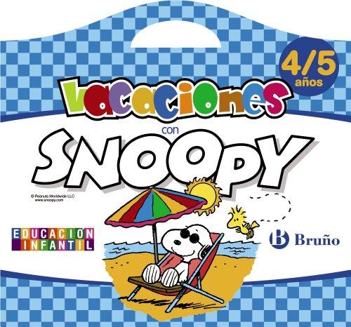 Vacaciones con Snoopy 4-5 años (Castellano - Material Complementario - Vacaciones Educación Infantil) - 9788421675946