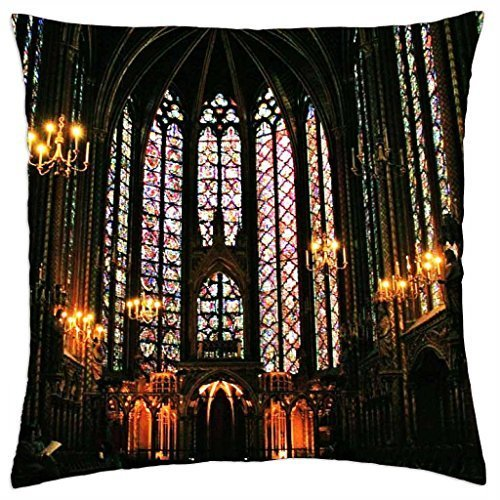 Ste Chapelle cathedral - Throw Pillow Cover