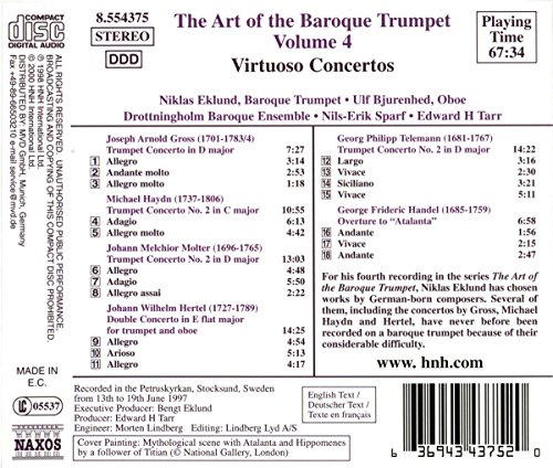The Art Of The Baroque Trumpet Vol 4