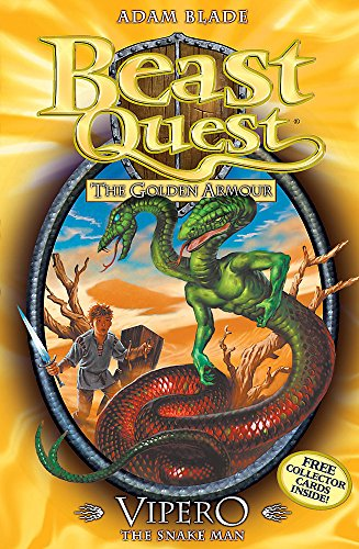 Beast Quest: Vipero the Snake Man Cover Image