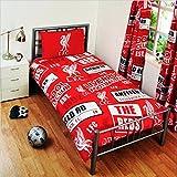 Kinder Bettwäsche mit Liverpool FC Design (Einzelbett) (Rot)