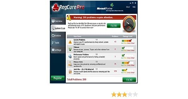 regcure pro free download