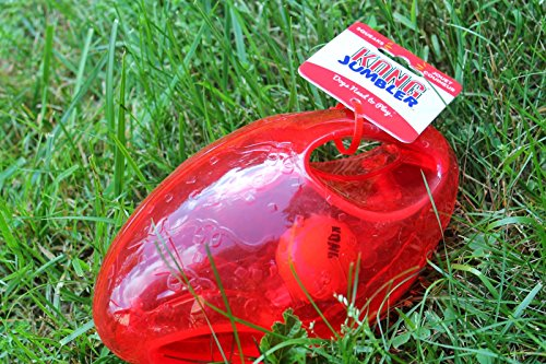 Kong, Jumbler-Ball / Spielball für Hunde (Puppy Medium Kong)