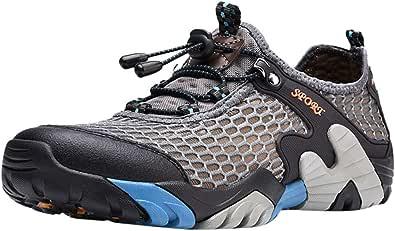 Oyedens Scarpe Trekking Uomo Estive Scarpe da Ginnastica Uomo Antiscivolo Scarpe Uomo Sportive Sneaker Traspirante Outdoor Non-Slip Hiking Shoes Scarpe da Corsa Uomo Sneaker 2019 Nuovo Moda