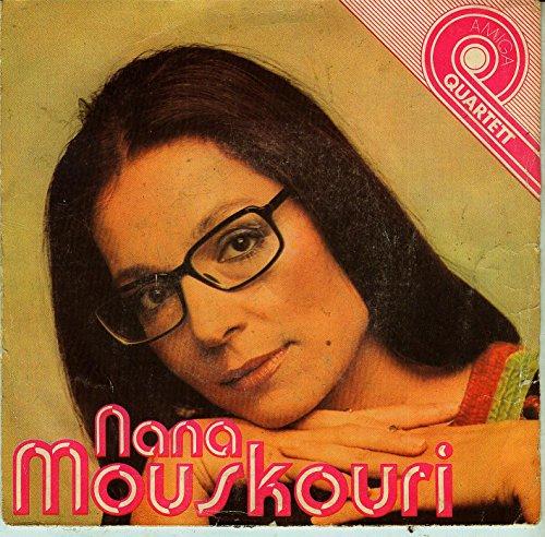 Nana Mouskouri / La Provence / Schiffe, die sich nachts begegnen / Lieder, die die Liebe schreibt / Die Welt ist voll Licht / 1981 / Bildhülle / AMIGA # 5 56 015 / Deutsche Pressung / 7
