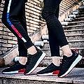 Mesh Sneaker Damen Herren,❤️Absolute Männer Frauen 2018 Sommer Neue Turnschuhe Kreuzgurte Flache Schuhe Freizeitschuhe Gym Skate Laufschuhe Atmungsaktiv Sportschuhe