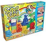 Super Sand - Safari Color, set con figuras (Goliath 83226008)