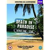Crimen en el paraíso / Death in Paradise (Series 1-5) - 14-DVD Box Set ( Death in Paradise - Series One to Five (40 Episodes) )