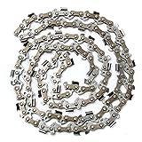Faway Cadenas de Motosierra de 50 cm con Cadena de Sierra de Motosierra DE 3/8 Pulgadas, Calibre 70DL