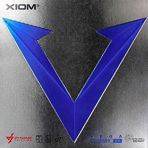 half off 77c22 b2878 Xiom Vega Euro DF Table Tennis Rubber (BLACK, MAX)