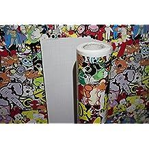 30x 200cm stickerbombfolie XtremeSkins Auto Pantalla Pantalla Sticker Bomb JDM)