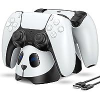 ECHTPower Chargeur Manette PS5, Station de Chargement pour Manettes DualSense Playstation 5, Charge Rapide 2H avec…