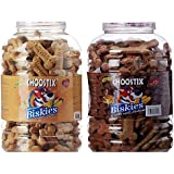 Choostix Biskies Real Chicken, 1 kg with Real Mutton Dog Treat, 1 kg