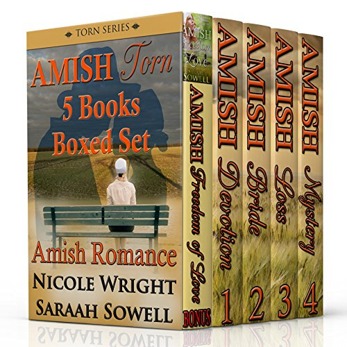 Amish Romance The Torn Series 4 Complete Novels In One Boxed Set Inspirational Amish Romance Bundle One Bonus