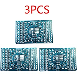 Pinzhi SMT SMD Komponente Schweißen Schweißen Praxis PCB Board Solder Plate DIY Kits (3Set)