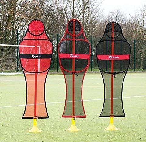 Precision Football Sports Equipment Entraînement Entraînement Pop-up Mannequin Lot De 3