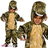 Natural History Museum T-Rex Fancy Dress Costume (Official Licensed) - Kids Costume 5 - 7 years