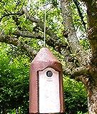 Schwegler Naturschutzprodukt Nisthöhle Typ 2M Vogelhöhle freihängend FT Nisthilfe Flugloch 32 mm Satz 2 Stück