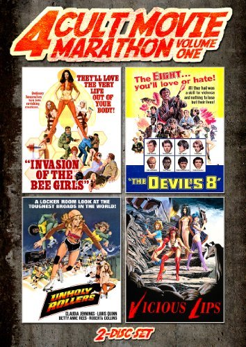 Cult Movie Marathon (Unholy Rollers, Invasion of the Bee Girls, Devil¡¯s Eight & Vicious Lips) by Claudia Jennings Bee Girl
