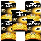 Duracell PX76A Alkaline Batterien Knopfzelle'10 x LR44 A76 1,5V [5x 2er-Blister]'