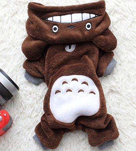 t Chinchilla Overall Kostüm Jacke Apparel Outfits Hoodie Mantel für kleine Hunde und Katzen (Chinchilla Kostüm)