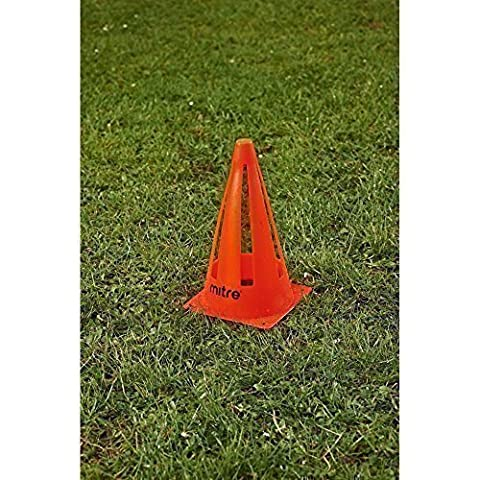 New Mitre Agility Training Football Sports Collapsible Safety Cone 9-inch
