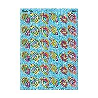 72 x Flashy Fish Sparkly Stickers