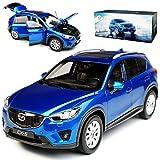 alles-meine.de GmbH Mazda CX-5 KE Blau SUV 1. Generation 2011-2017 1/18 Paudi Modell Auto