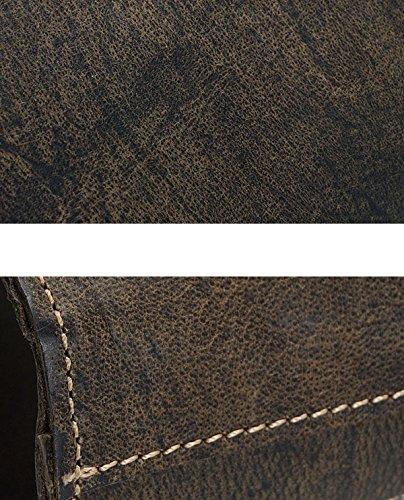 Donne Piccole Borse A Tracolla In Pelle Borse A Tracolla Crossbody Per Le Donne Borse Casual Casual Ragazza Cartella Cartella Caffè