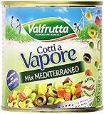 Valfrutta - Mix Mediterraneo, Vegetali Misti Sottovuoto - 3 X 150 G, 450 G