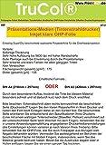 50 OHP Inkjet Präsentationsfolien 175g /m² DIN A3 für Tintenstrahldrucker 0,135mm Dicke zur Herstellung von professionellen, farbgetreuen Präsentationen. Einseitig SuperDry beschichtete opalisierte Polyesterfolie für die Overheadprojektion. Ermöglicht eine sehr hohe Auflösung, Kantenschärfe und besitzt eine kurze Trockenzeit