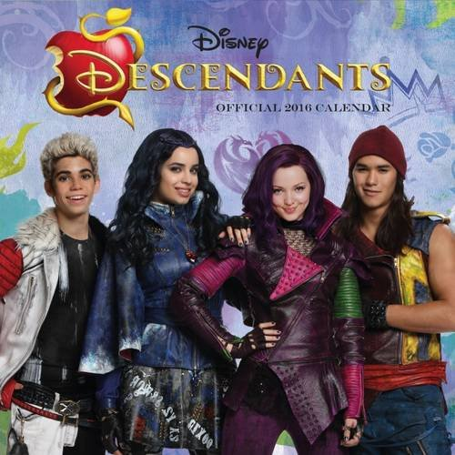 The Official Descendants 2016 Square Calendar